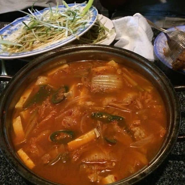 Lẩu kimchi  của Sunny Day tại Two Two Chicken - Gà Rán Hàn Quốc - Park View - 111730