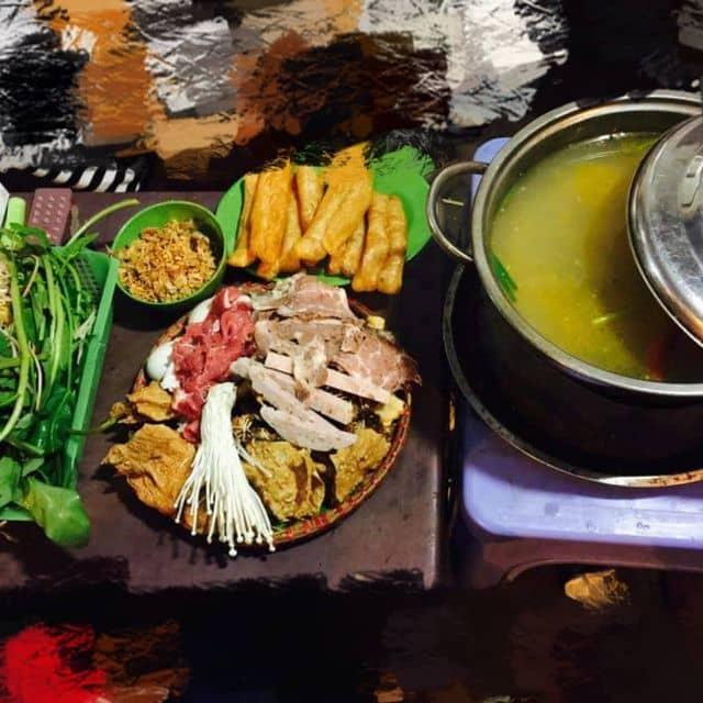 Lẩu mẹt cua đồng của Ngọc'ss Bảoo tại Caribe Restaurant - 120613