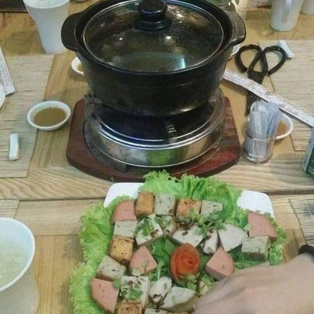 lẩu nấm chay  của Trâm Nguyễn tại Nhà hàng Ẩm Thực Chay Hạt Bồ Đề - 155146