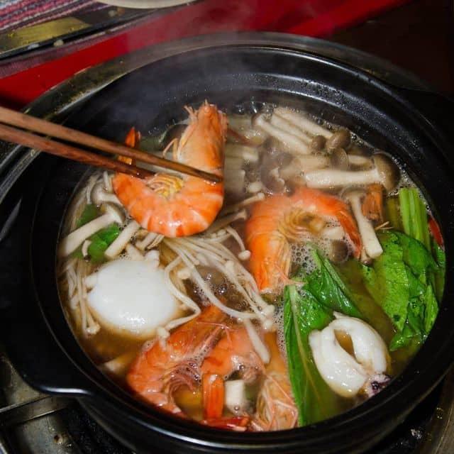 Lẩu nấm hải sản của Hải Lê tại Núi BBQ - Tinh Hoa Món Nướng Vùng Cao - 127414