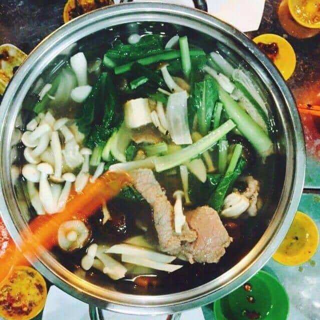 Lẩu nấm thịt bò của Lộc Lá tại An An Quán - Vĩnh Khánh - 45927