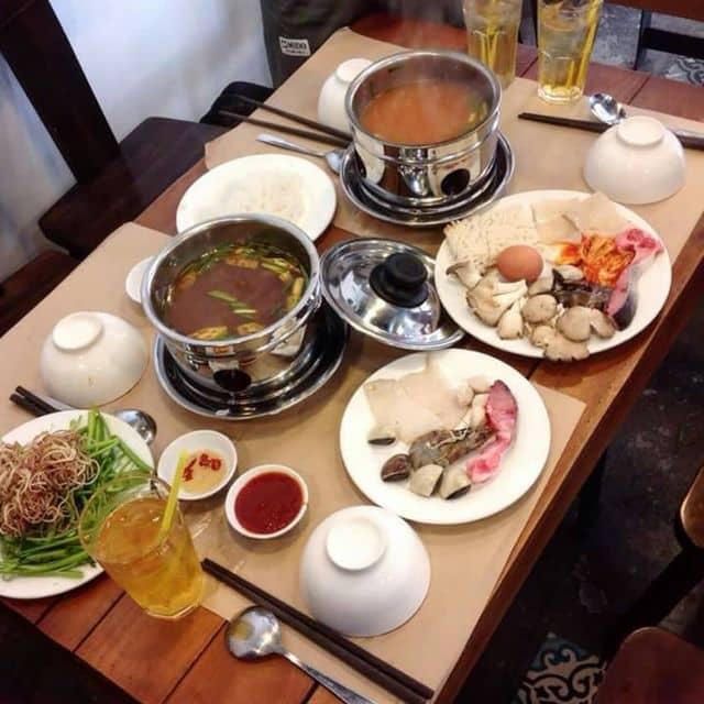 Lẩu Nhật hải sản mỳ udon của Mi Tôn tại HOTPOT RUNWAY - Lẩu 1 Người & Đồ Nướng - 126613