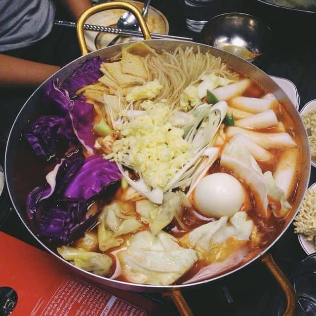 Lẩu poki của Rin Numb tại Poki Poki - Korean Restaurant - 78962