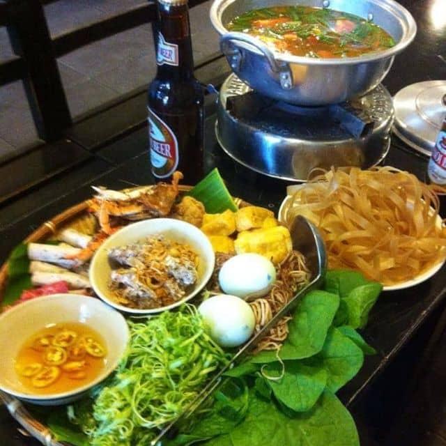Lẩu riêu cua của Vân Ha Đinh tại Ngõ 8 - Trà Chanh & Lẩu Riêu Cua Đồng - 3793