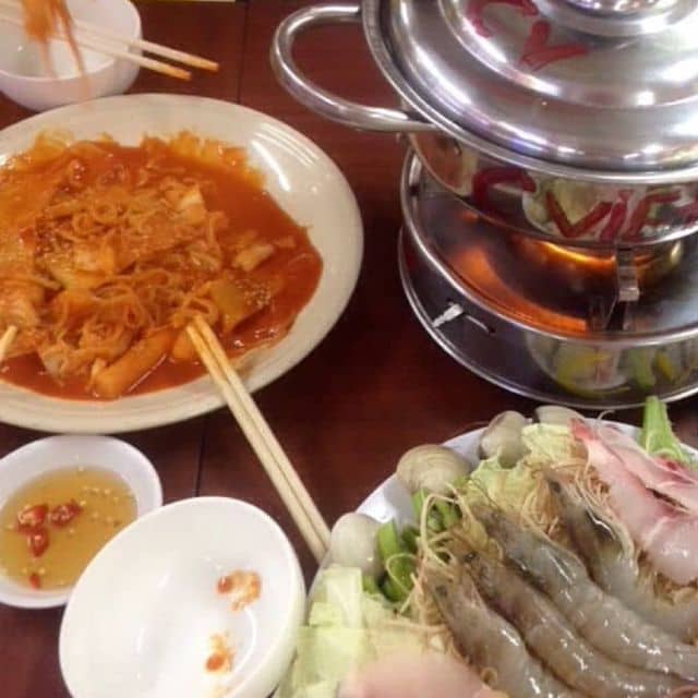 Lẩu thái chua cay,mì dai tobokki của Múpp Trang tại Foodcourt - Lotte Mart Cộng Hoà - 129295