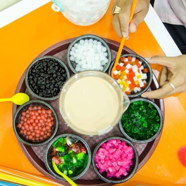 Lẩu trà sữa của Suong Dang tại  Trà sữa Xí Ngầu - 118501