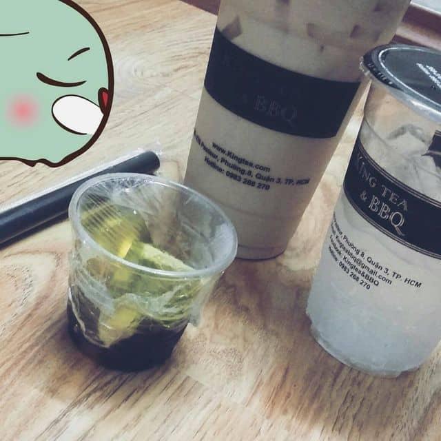 Lẩu trà sữa của Phương Mai tại RuBi Cafe - 49454