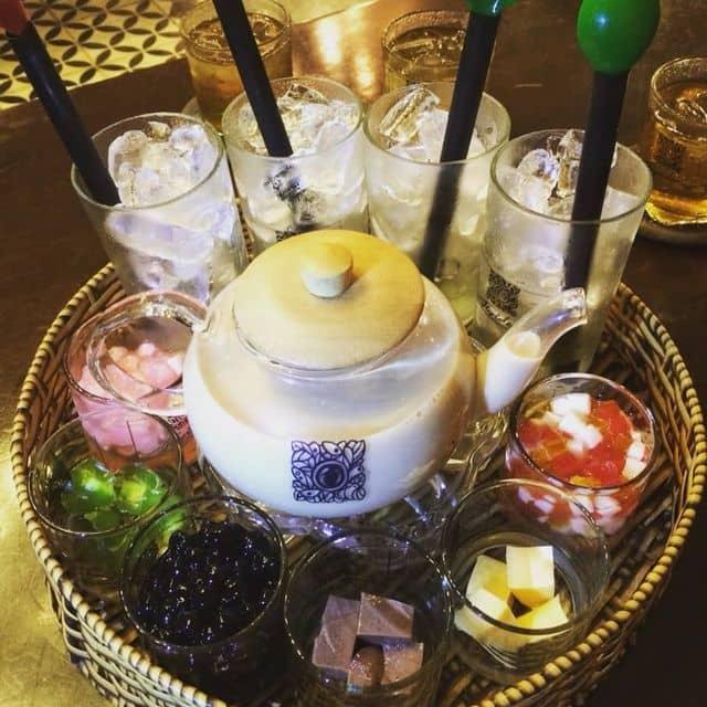 Lẩu trà sữa của Minh Thư tại Fly idea Cafe & Studio - 106042