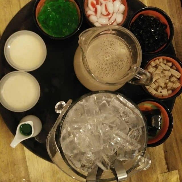 Lẩu trà sữa của Thiên Duy Lê Hữu tại Trà sữa Bean Bean - Đường D2 - 86500