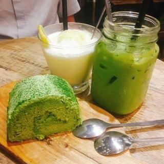 Lemon Snow ( Chanh Tuyết ) và Trà sữa trà xanh  và Bánh cuộn trà xanh của hanbinie tại 124 Bạch Đằng, Quận Hải Châu, Đà Nẵng - 1486414