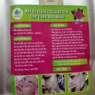 Mặt nạ colagen hoa hồng của n0mai tại Shop online, Huyện Lộc Bình, Lạng Sơn - 3329225