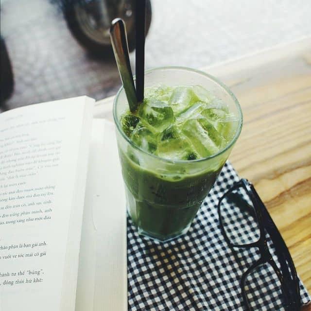 Matcha ice blended của Mun tại Jabanit Matcha & Coffee House - 70108
