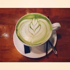 Cái này vừa rẻ vừa ngon hơn ở Starbuck nhé! #greentea #latte @nhatquyen