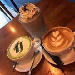 Matcha Latte,cookie,latte của Trâm Nguyễn tại Urban Station Coffee Take Away - Bình Thới - 343369