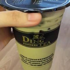 Matcha green milk tea ngon, thơm mùi trà xanh, bùi bùi vị sữa, vị matcha đậm, uống với topping rau câu mát mát lạnh lạnh. Đặc biệt là không hề bị ngọt #lozi #dingtea #matcha #milktea