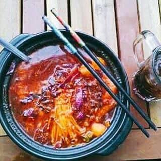 Mì cay của dylan102 tại Chợ Minh Lương, tt. Minh Lương, Huyện Châu Thành, Kiên Giang - 1457466