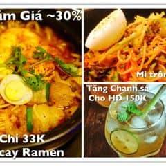 mì cay Ramen/ Mì trộn cay của Thu Huong Nguyen tại Nhà hàng OkonomiYaki - Thụy Khuê - 416191