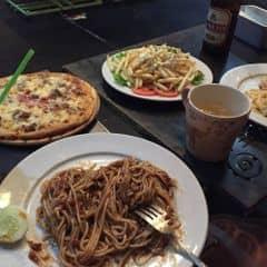 Mì classic + bolonesse + pizza của Lưu Ly tại Spaghetti Box - Núi Trúc - 200705