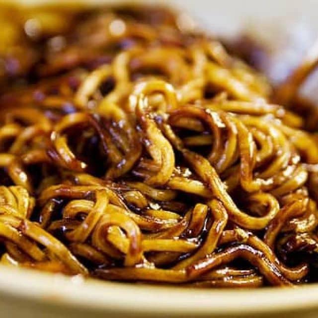 Mì đen hàn quốc của Pham Huyen tại Nhà hàng Hàn Quốc Kim Saltec - 1603