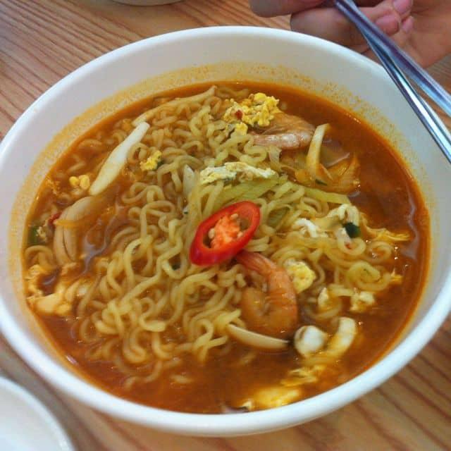 Mì hàn quốc của Thu Khánh tại Full House Korean Restaurant - 71853