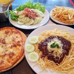 Mì lạnh, pizza, salad của Muun Trần tại Spaghetti Box - Núi Trúc - 118988