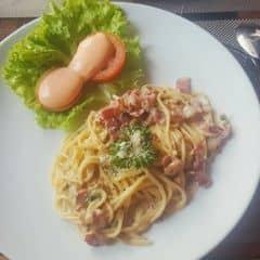 Mì ý sốt kem thịt xông khói của Phuc Nguyen tại Mì Ý Double B - 871939