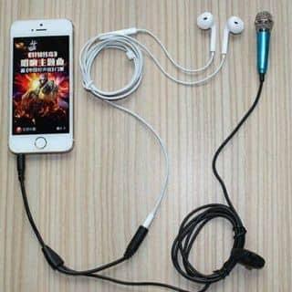 Mic hát kèm tai nghe của thaothanh166 tại Shop online, Huyện Lộc Bình, Lạng Sơn - 900662