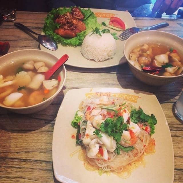 Miến trộn hải sản kiểu thái của Phong Lam tại ThaiExpress - Phan Xích Long - 40156