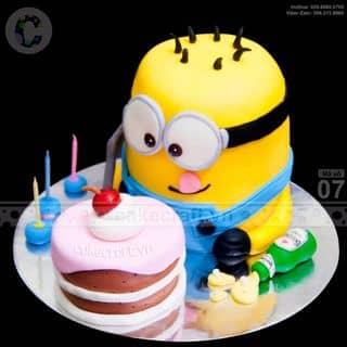 Minion măm bánh - Bánh kem sinh nhật tạo hình theo yêu cầu của tiembanh_cakecraft tại (Giao hàng tận nơi) Số 32 Nội khu Mỹ Toàn 2, Phú Mỹ Hưng, P. Tân Phong, Quận 7, Hồ Chí Minh - 4240811