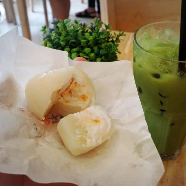 Mochi xoài & matcha latte của An Trương tại Jabanit Matcha & Coffee House - 112157