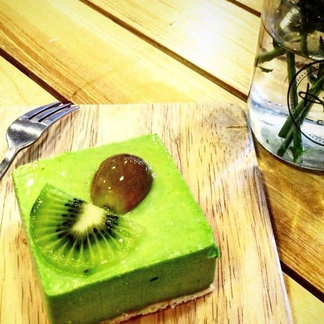 Mousse trà xanh của Mai Huong Bui tại And Here Coffee - Nguyễn Quang Bích - 82416