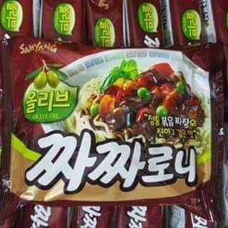Mỳ đen Hàn Quốc giá rẻ