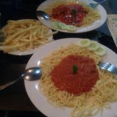 Mỳ spaghetti & khoai của Linh Na tại Spaghetti Box - Núi Trúc - 257200