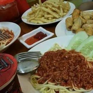 Mỳ ý + khoai tây lắc phô mai + chả mực của minhhang52 tại 145 Nguyễn Văn Linh, Thị Xã Hà Giang, Hà Giang - 1283925