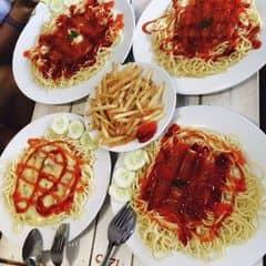 Mỳ ý , pizza , khoai chiên  của cai999 tại Spaghetti Box - Núi Trúc - 349540