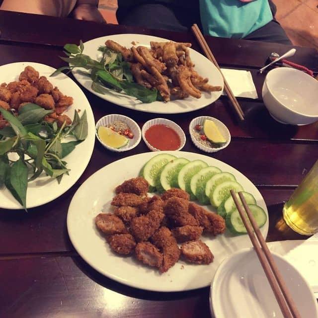 Nem chua rán , chân gà rang muối , gân gà của Trực Đỗ tại No.96 - Võ Văn Tần - 26460