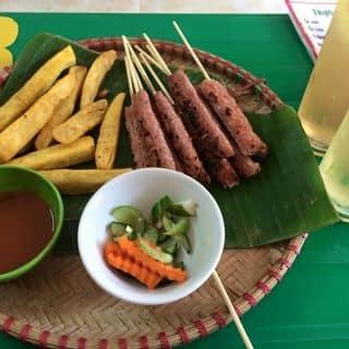 Nem nướng, khoai, trà chanh của phuonganh230 tại 182 Bắc Sơn, Thành Phố Lạng Sơn, Lạng Sơn - 828099