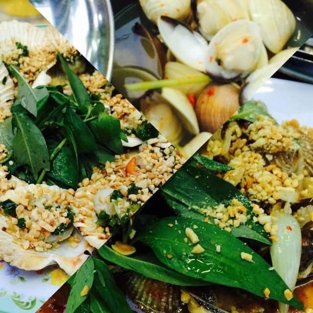 Ngếu hấp xả ớt, sò điệp nướng mỡ hành, sò lông sốt me của Ngô Bảo Vy tại Quán ốc đường vĩnh khánh - 105797