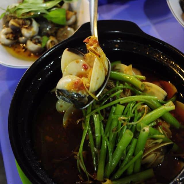 Nghêu hấp thái  của Little Pear tại Ốc Thảo - Nguyễn Xí - 275979