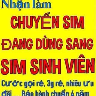 Nhân làm sim sinh viên của toanvp tại 69, 30 Tháng 4, Thành Phố Mỹ Tho, Tiền Giang - 1444423