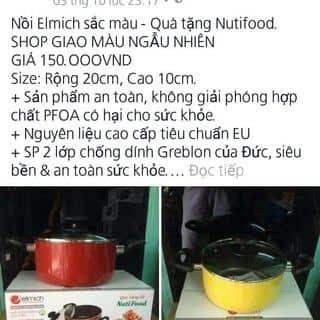 Nồi Elmich sắc màu - Quà tặng Nutifood.  SHOP GIAO MÀU NGẪU NHIÊN của thanhthuynguyen32 tại Hồ Chí Minh - 1113333