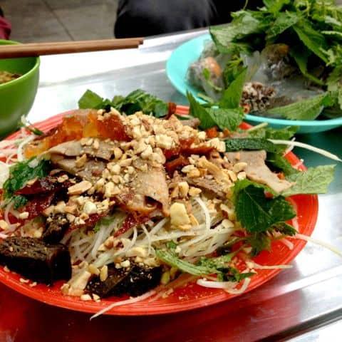Các hình ảnh được chụp tại Long Vi Dung - Nộm, Nem, Bánh Bột Lọc