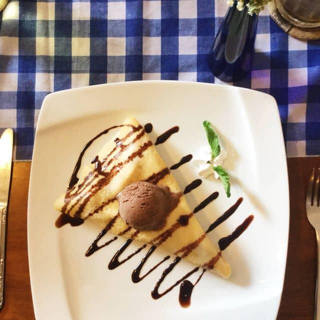 Nutella choco+banana crepes của Shishiru Hy tại Clover Cafe & Crepes - 90691