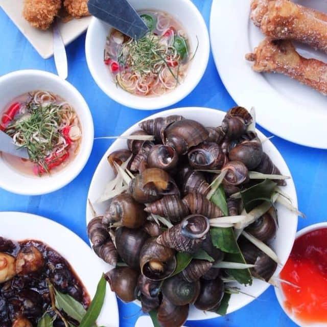 Ốc luộc của Pho Mai Que tại Quán chị Việt - Trung Tự - 90355