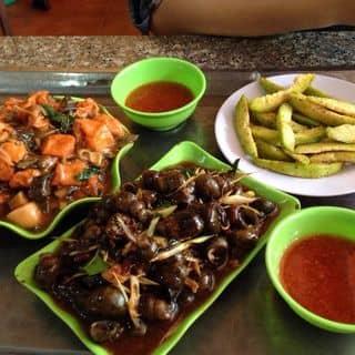Ốc xào chuối đậu + Ốc xào me + Cóc dầm của trangtreee tại Thái Nguyên - 1040726