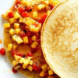 Pancake hoa quả của justintnguyenn tại Đinh Điền, Thành Phố Ninh Bình, Ninh Bình - 233224