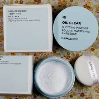 Phấn phủ dạng bột kiềm dầu Oil Clear TFS của dangkhanhhoai tại Thành Phố Hạ Long, Quảng Ninh - 2883907