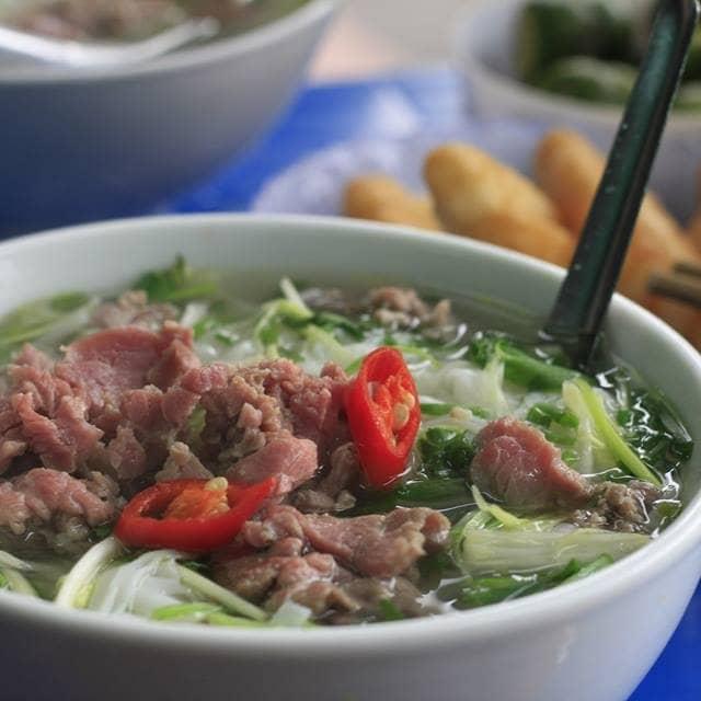 Phở bò của Cáo mắt mèo tại Phở Hiền - Nguyễn Chí Thanh - 4284
