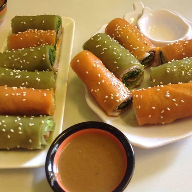 Phở cuốn nem nướng và phở cuốn tôm thịt của Miomao Bi tại Phở Hai Thiền - Nguyễn Tri Phương - 146720