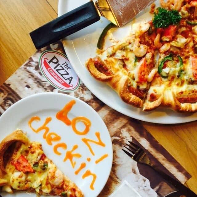 Pizza của Lộc Lá tại The Pizza Company - Lê Đại Hành - 85654